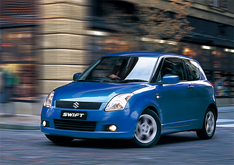 History of Suzuki Swift